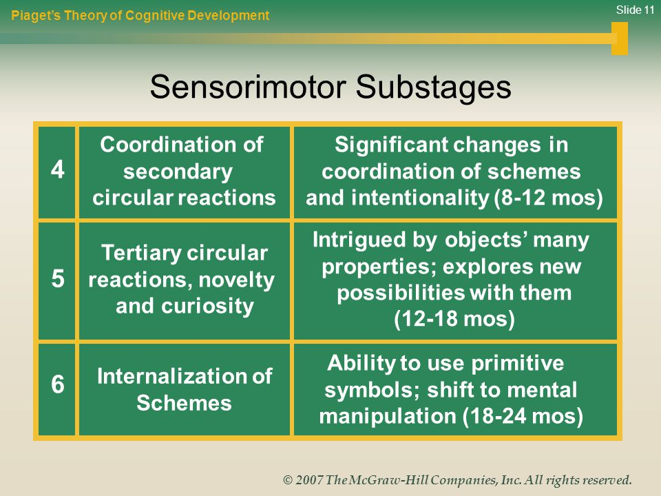 Sensorimotor Substages