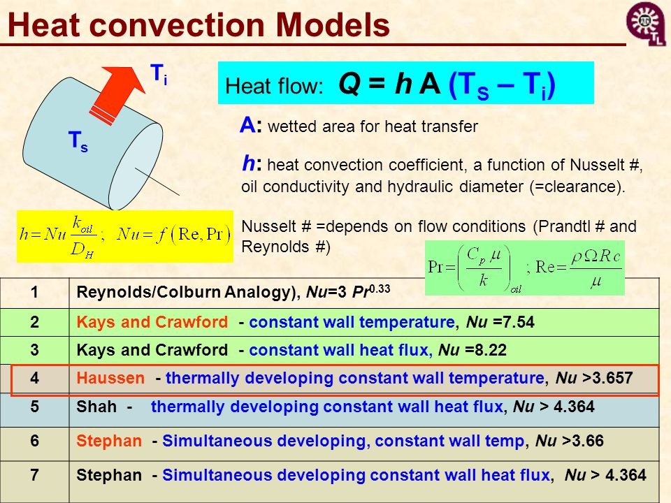 Heat convection Models