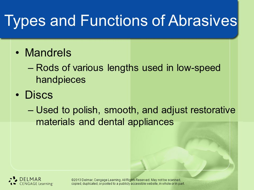 Types and Functions of Abrasives