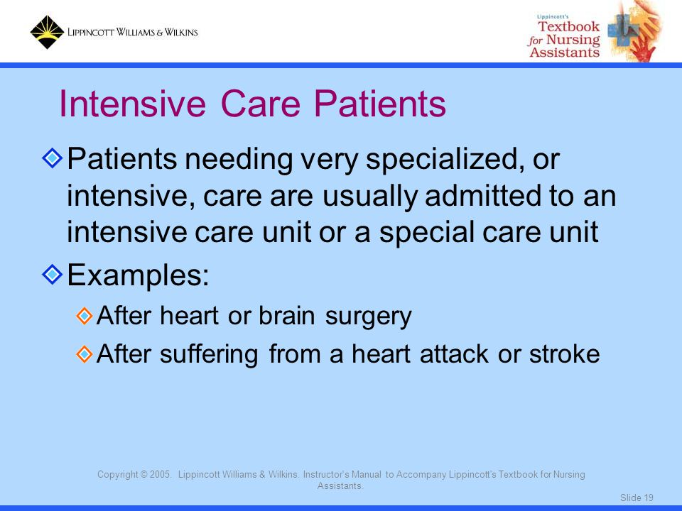 Intensive Care Patients