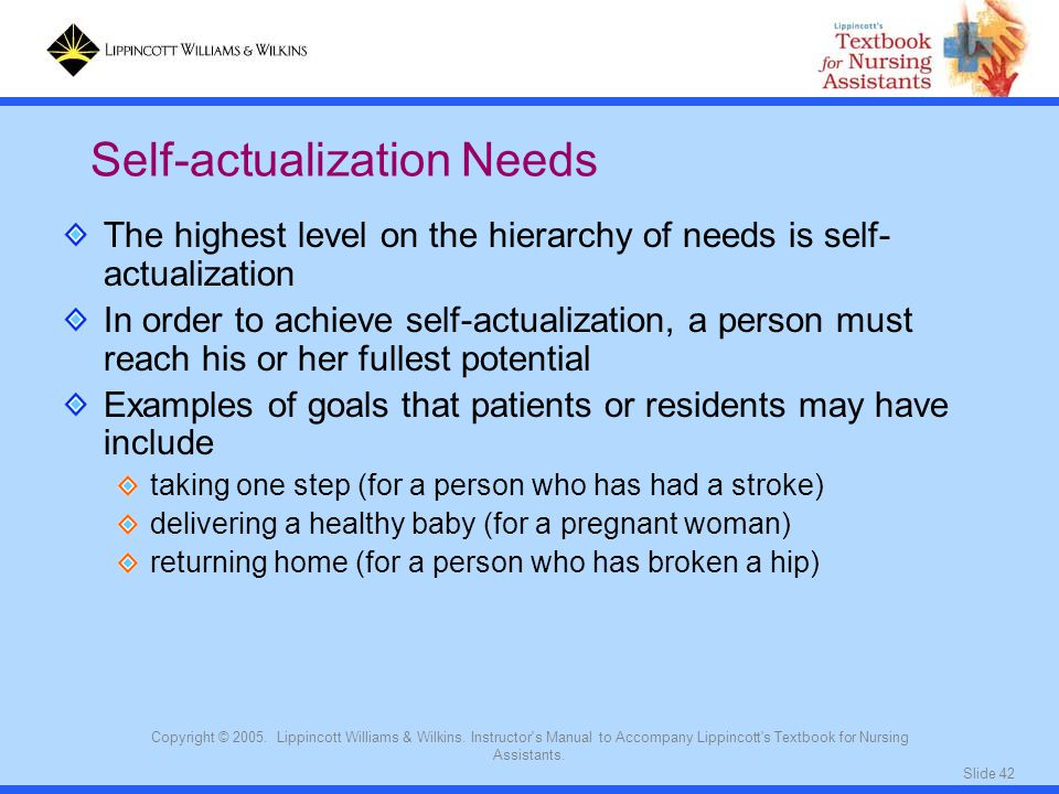 Self-actualization Needs