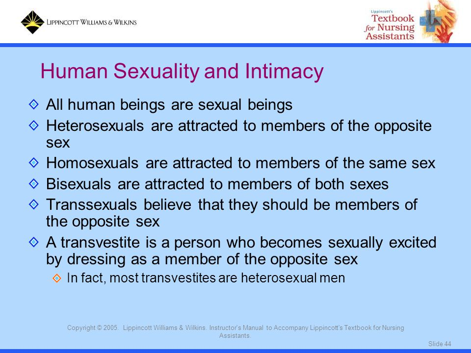 Human Sexuality and Intimacy