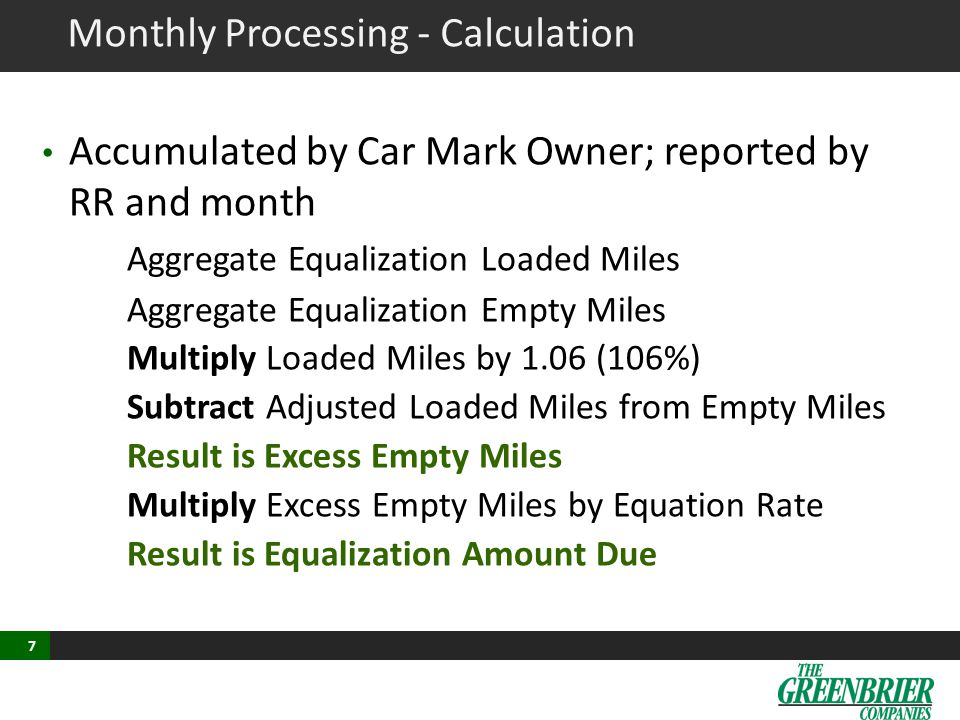 Sample Report USING YTD MILEAGE @ 0.67/MI – TOTAL BILL $1,279.03