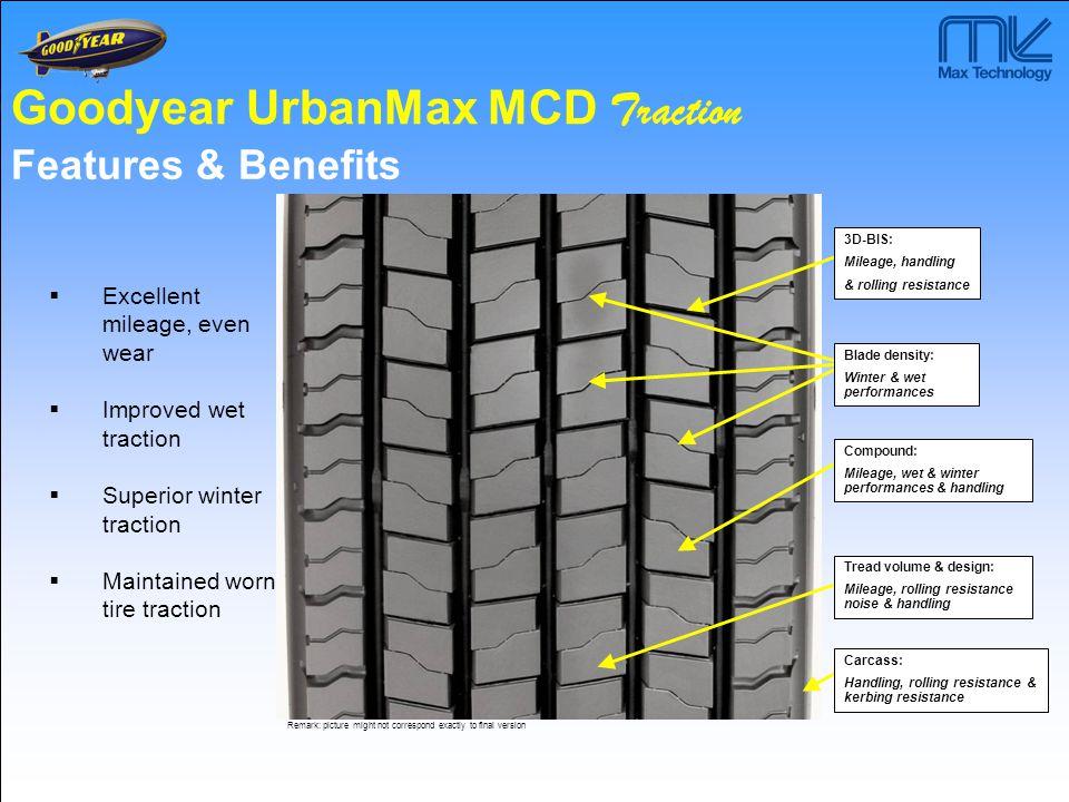 Goodyear UrbanMax MCD Traction