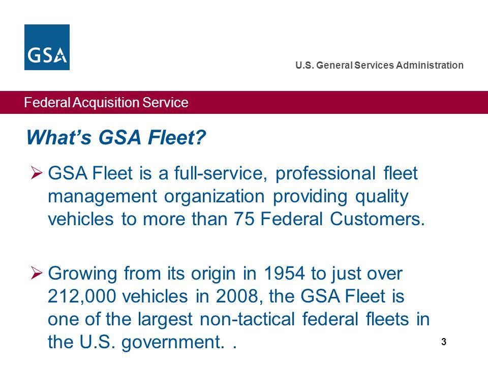 What's GSA Fleet