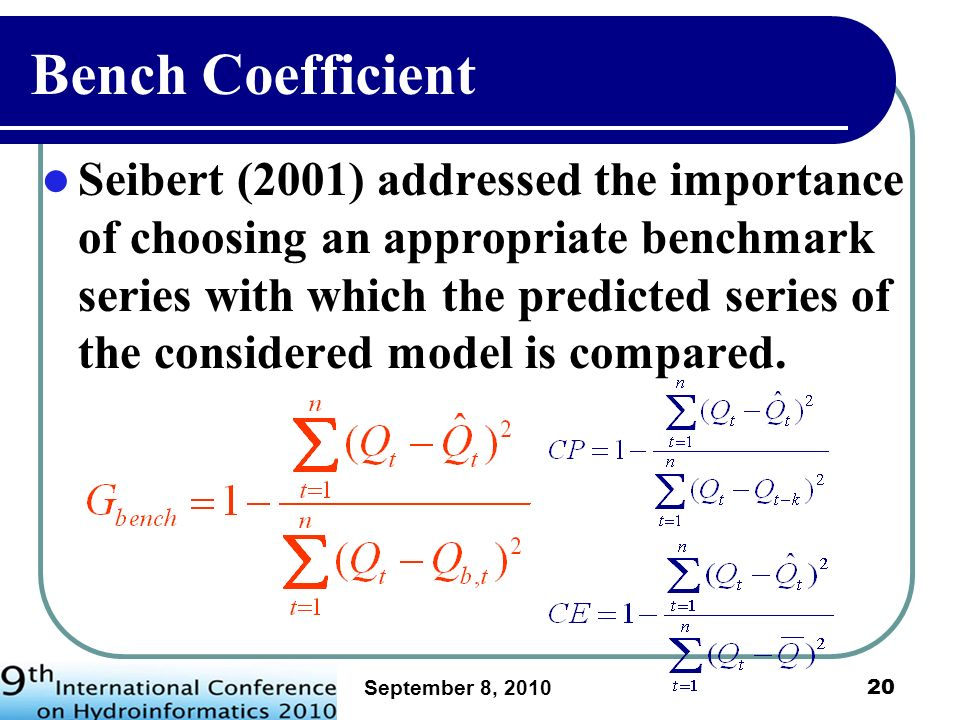 Bench Coefficient