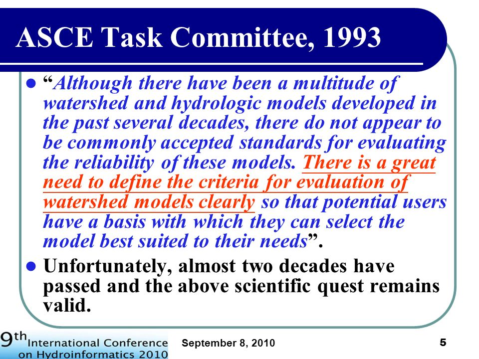ASCE Task Committee, 1993