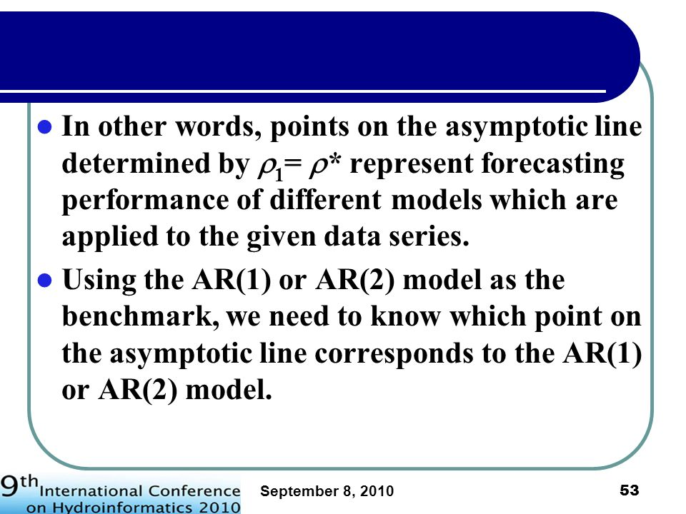 In other words, points on the asymptotic line determined by 1= 