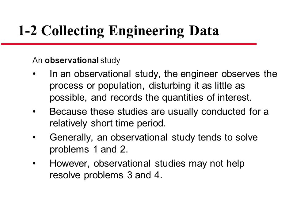 1-2 Collecting Engineering Data