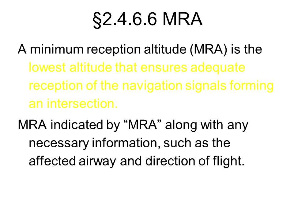 §2.4.6.6 MRA