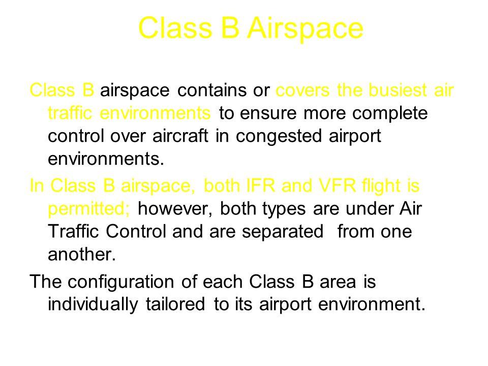 Class B Airspace