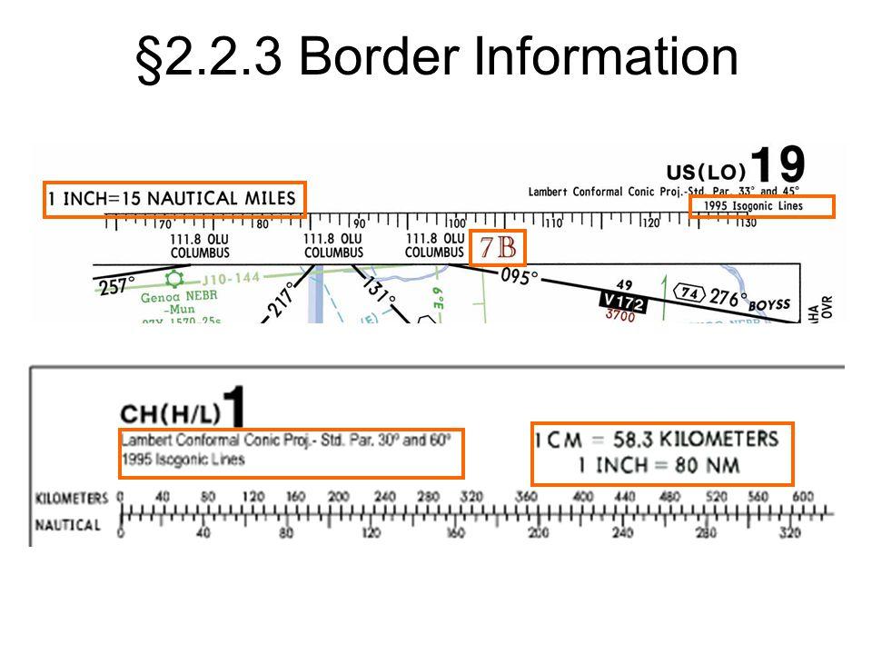 §2.2.3 Border Information