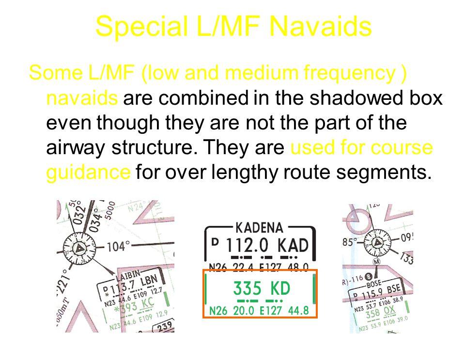 Special L/MF Navaids