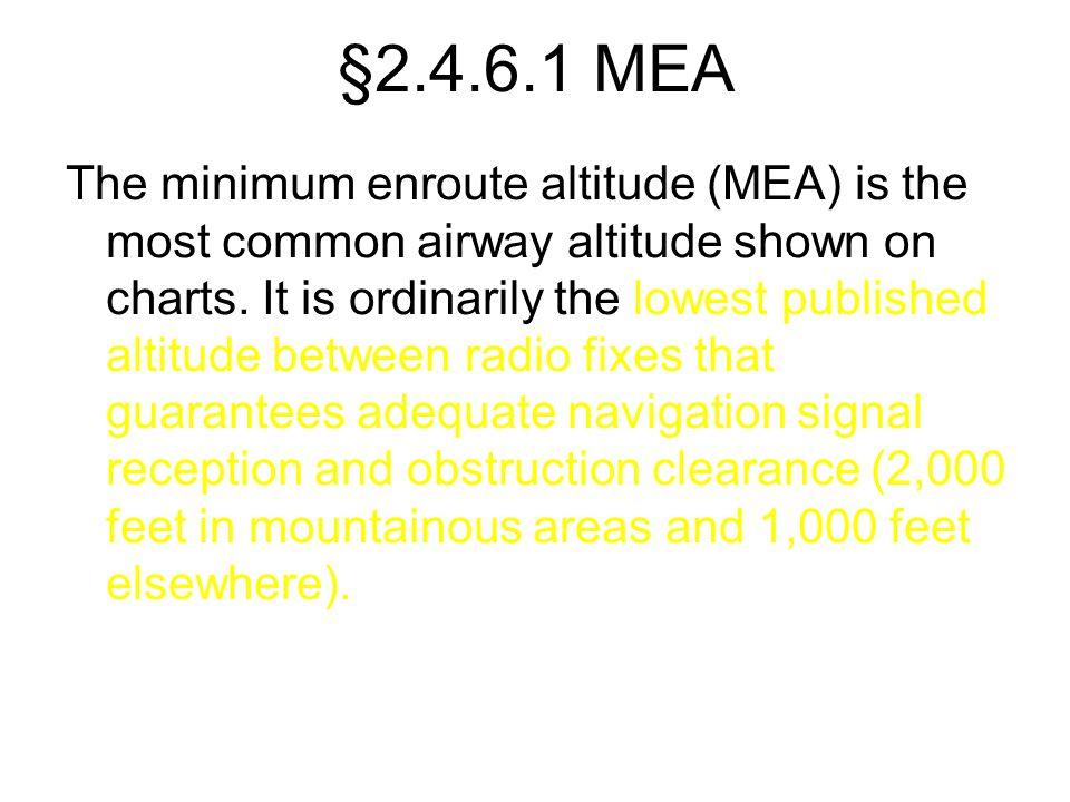 §2.4.6.1 MEA