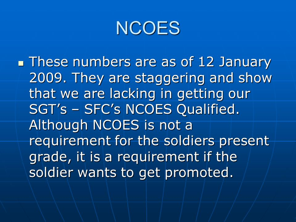 NCOES