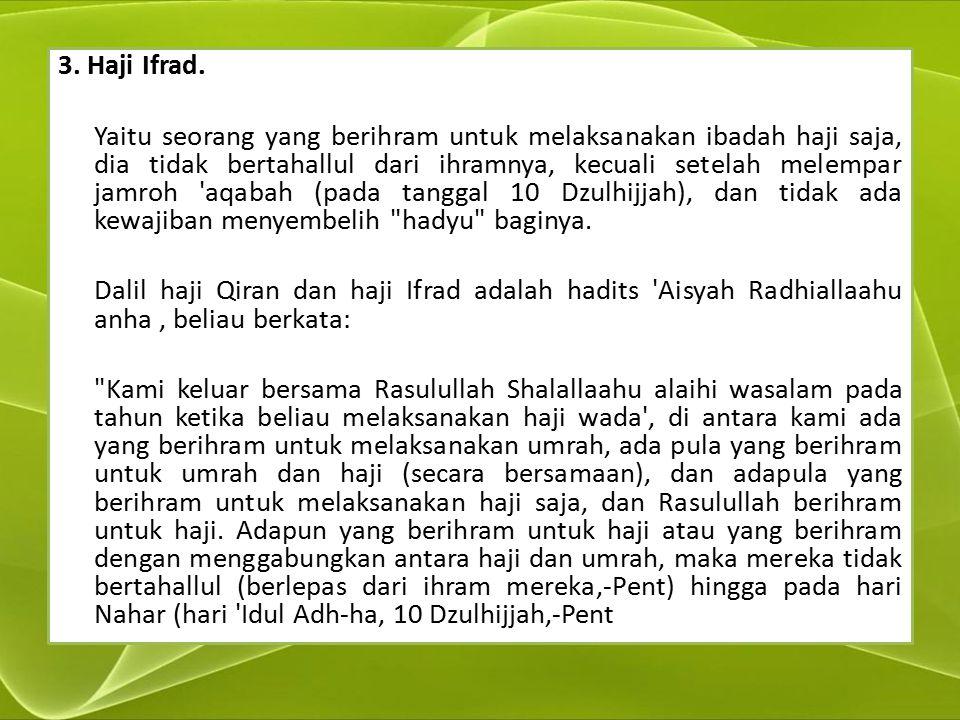 3. Haji Ifrad.