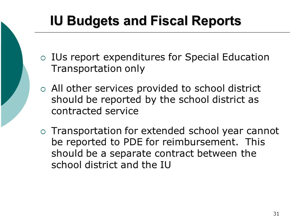 IU Budgets and Fiscal Reports