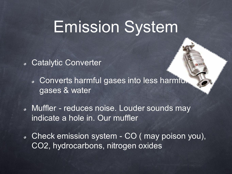 Emission System Catalytic Converter