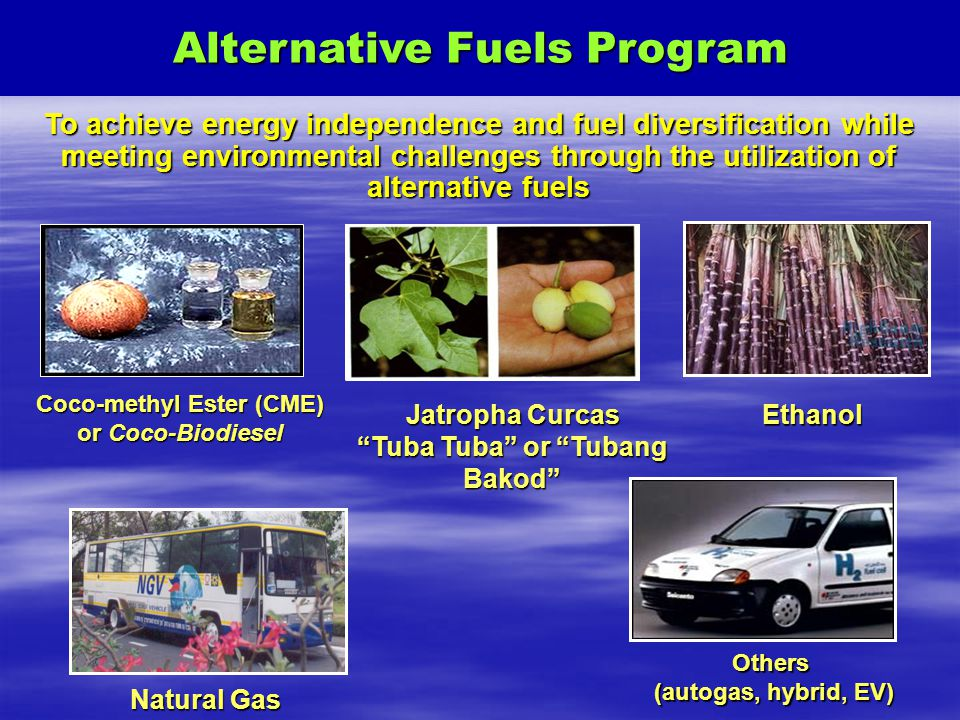 Alternative Fuels Program