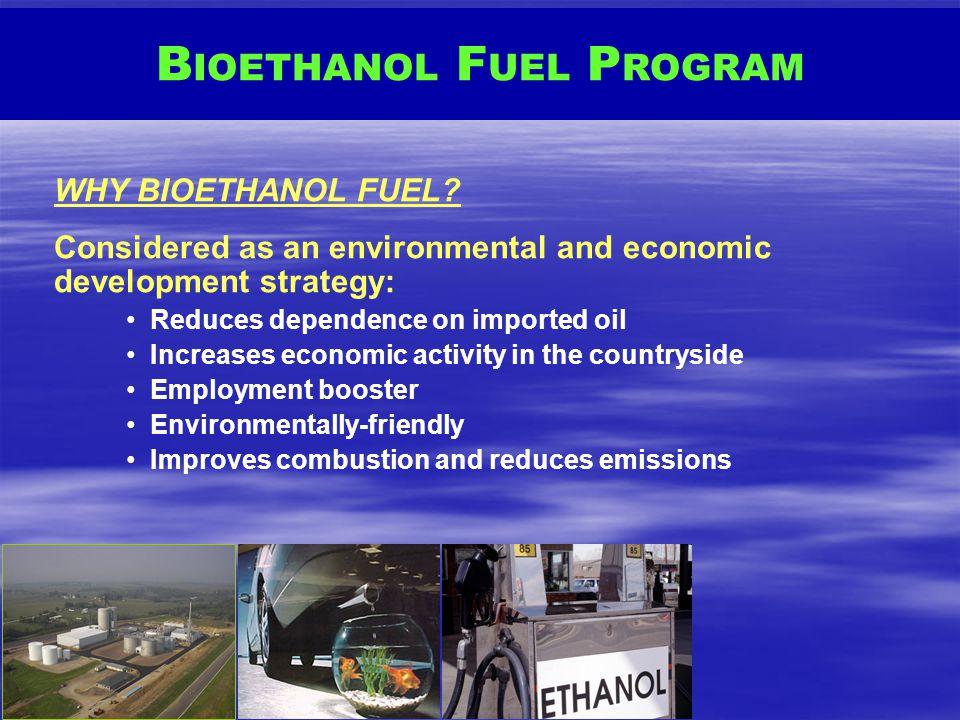 BIOETHANOL FUEL PROGRAM