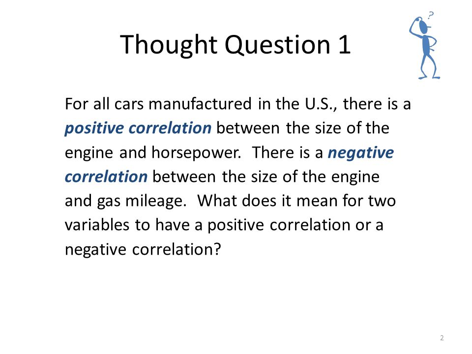 Statistical Thinking Thought Question 1.