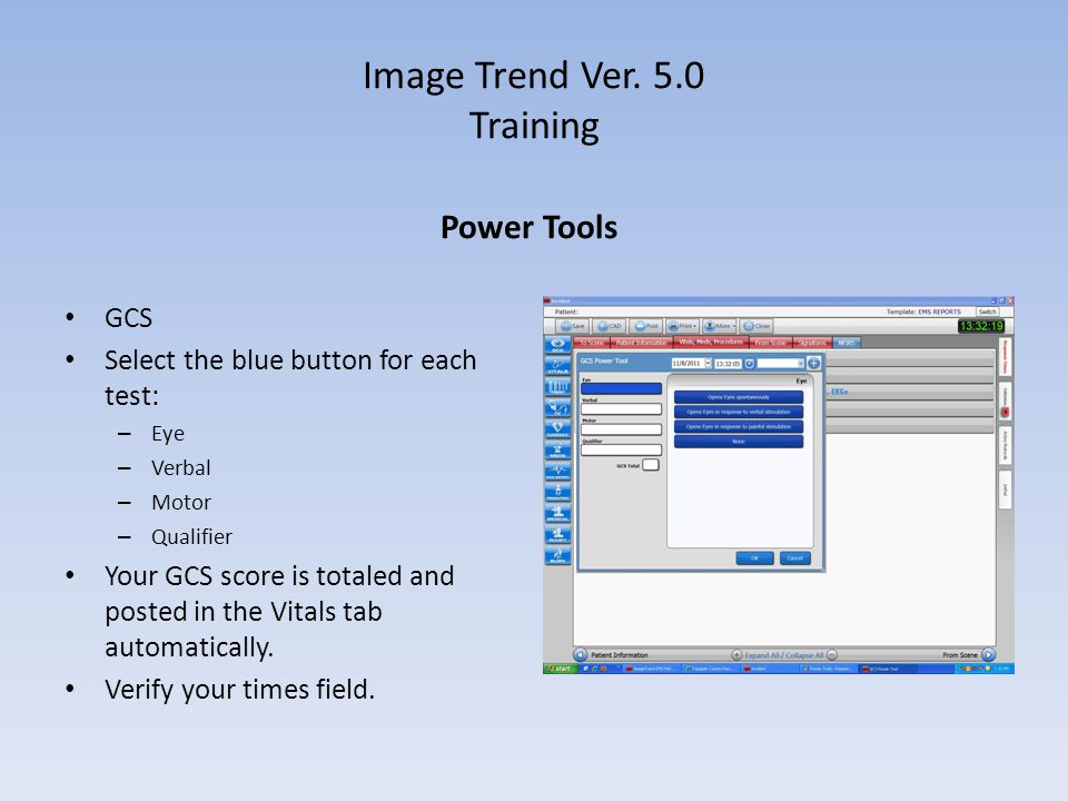 Image Trend Ver. 5.0 Training