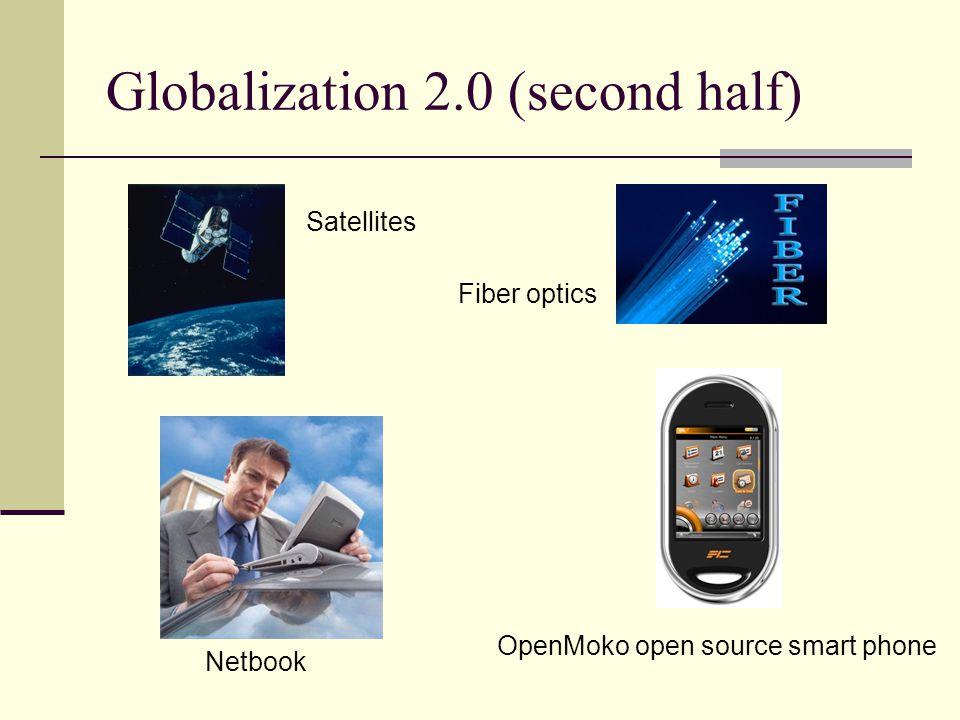 Globalization 2.0 (second half)