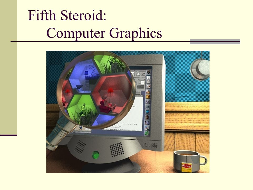 Fifth Steroid: Computer Graphics
