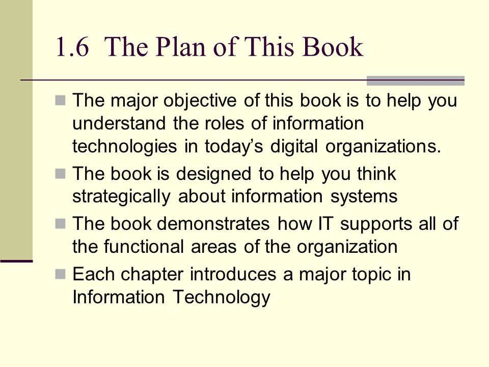 1.6 The Plan of This Book
