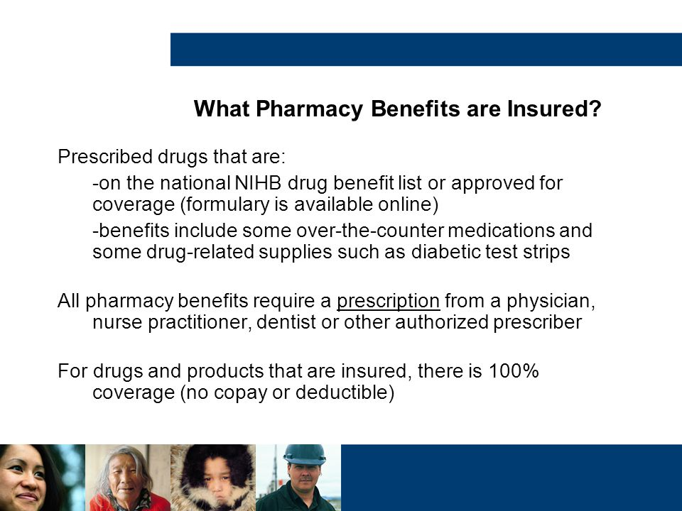 What Pharmacy Benefits are Insured
