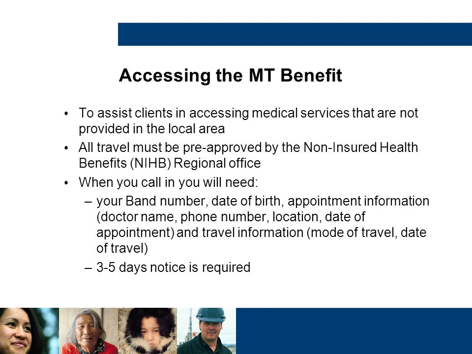 Accessing the MT Benefit