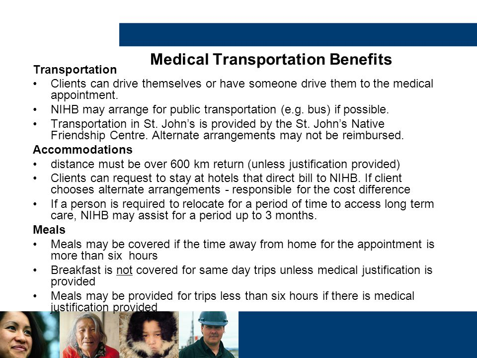 Medical Transportation Benefits