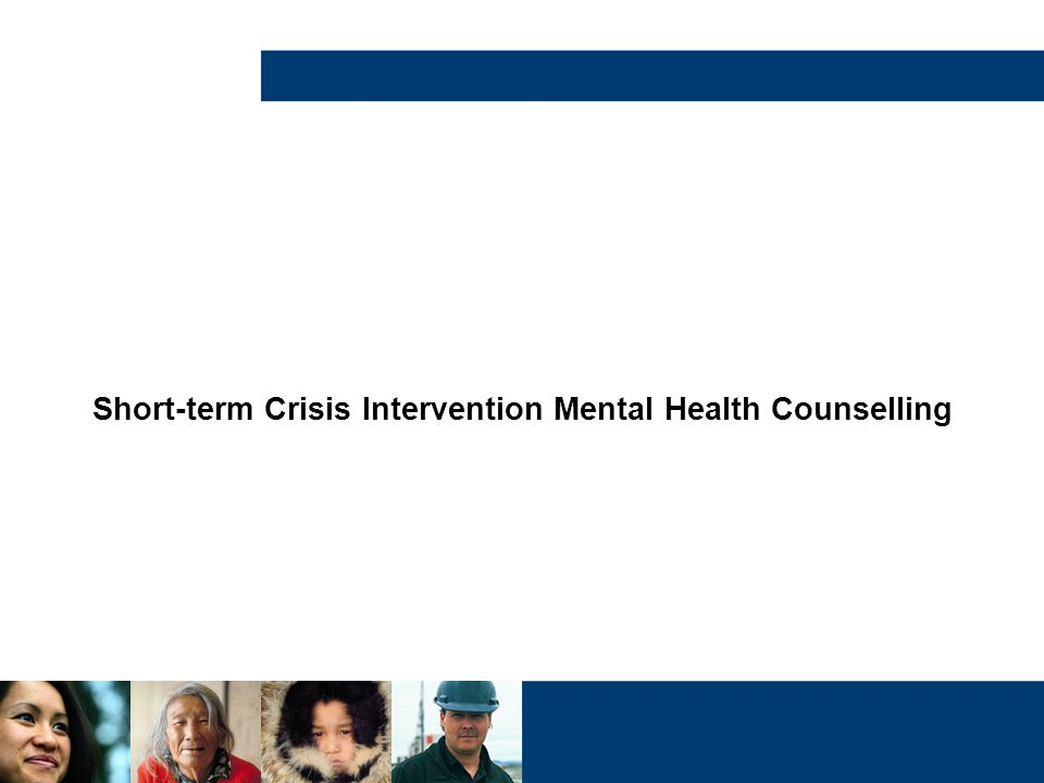 Short-term Crisis Intervention Mental Health Counselling