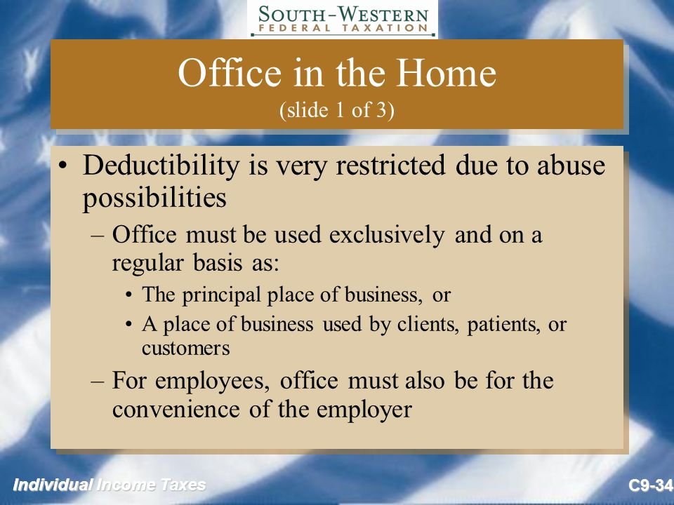 Office in the Home (slide 1 of 3)