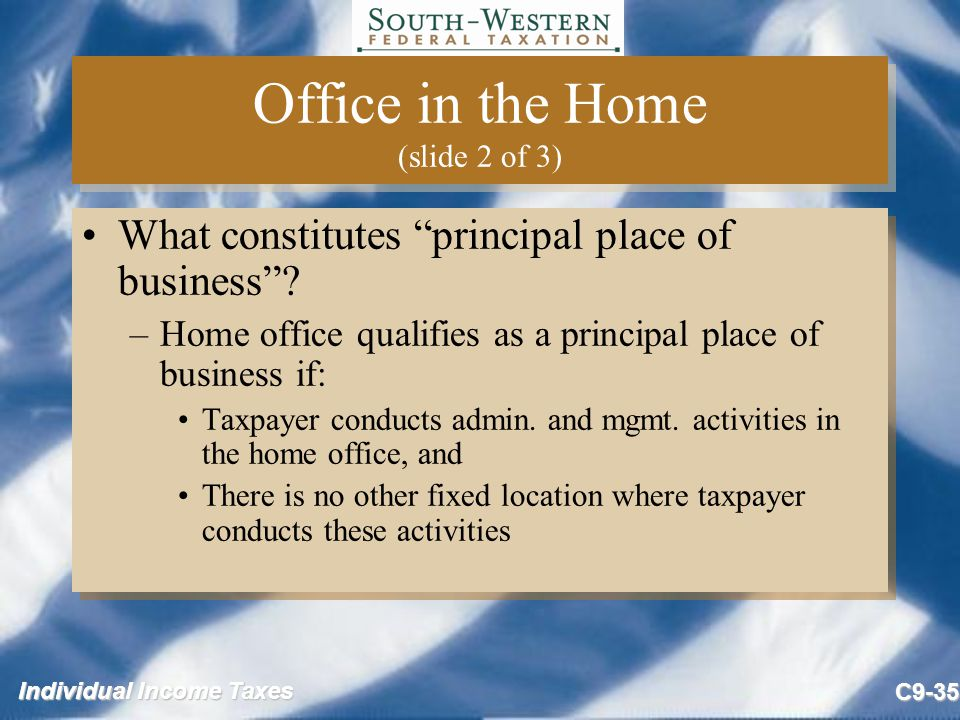 Office in the Home (slide 2 of 3)