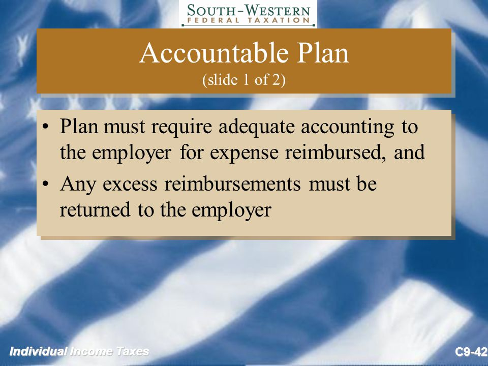 Accountable Plan (slide 1 of 2)