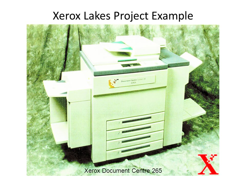 Xerox Lakes Project Example