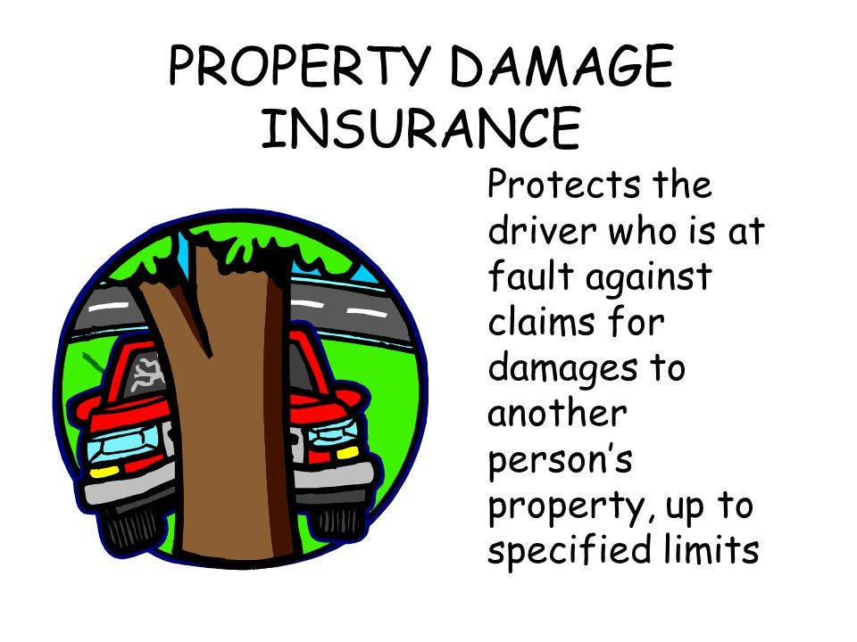 PROPERTY DAMAGE INSURANCE