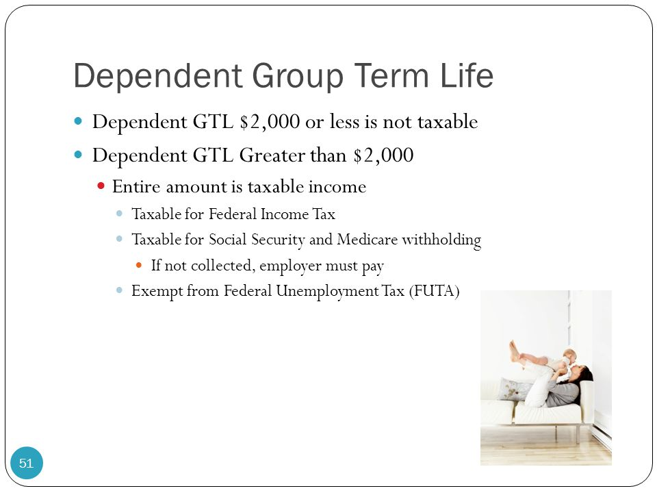Dependent Group Term Life