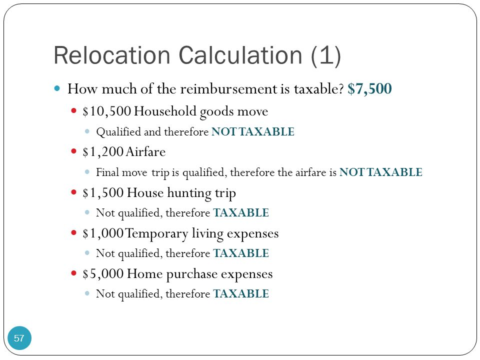 Relocation Calculation (1)
