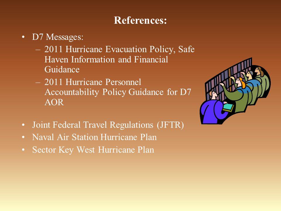 References: D7 Messages: