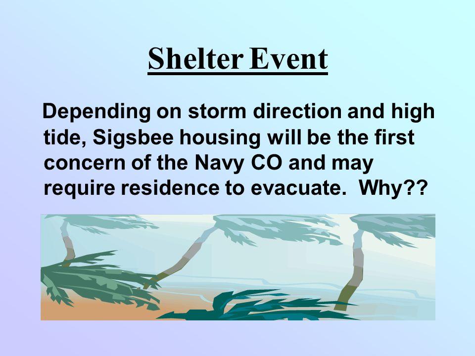 Shelter Event