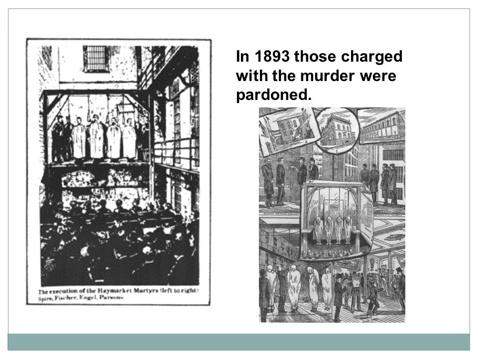 In 1893 those charged with the murder were pardoned.