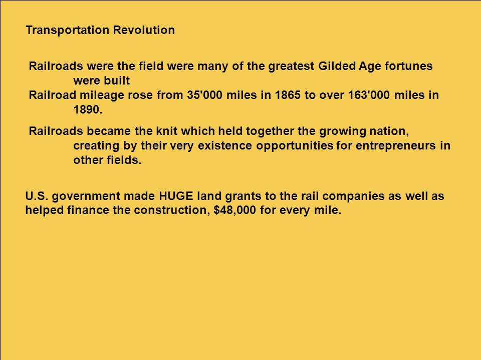 Transportation Revolution