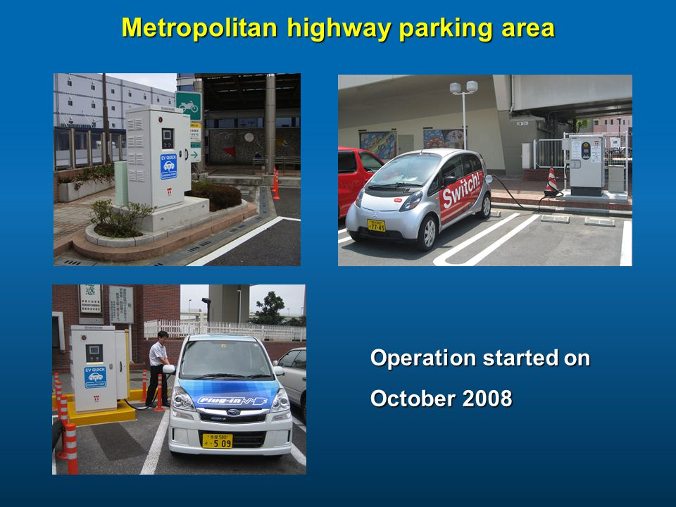 Metropolitan highway parking area