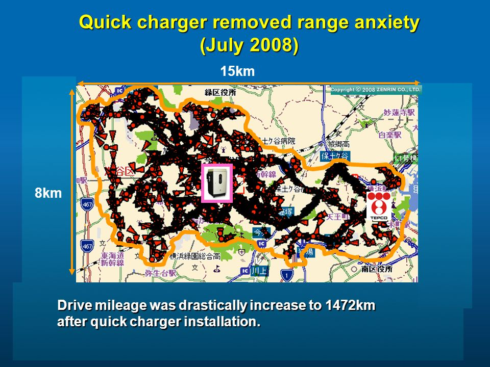 Quick charger removed range anxiety