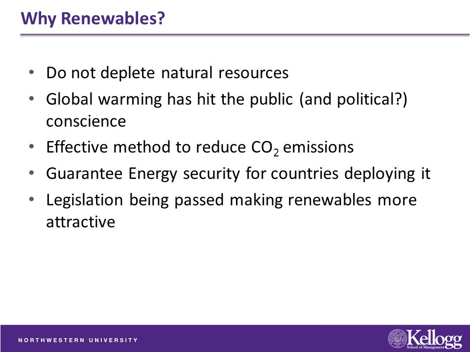 Why Renewables Do not deplete natural resources