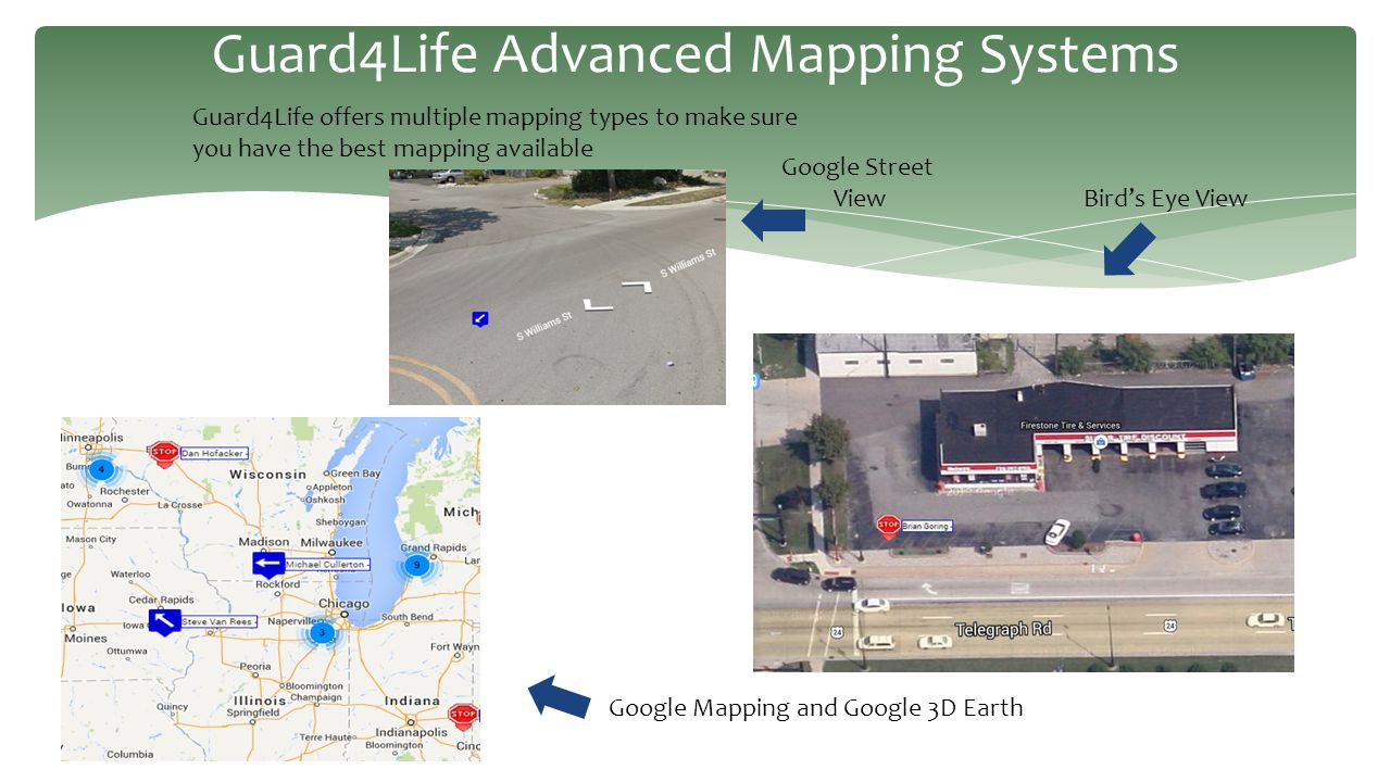 Guard4Life Advanced Mapping Systems