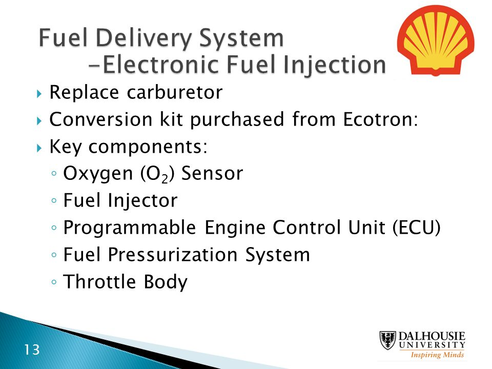 -Electronic Fuel Injection