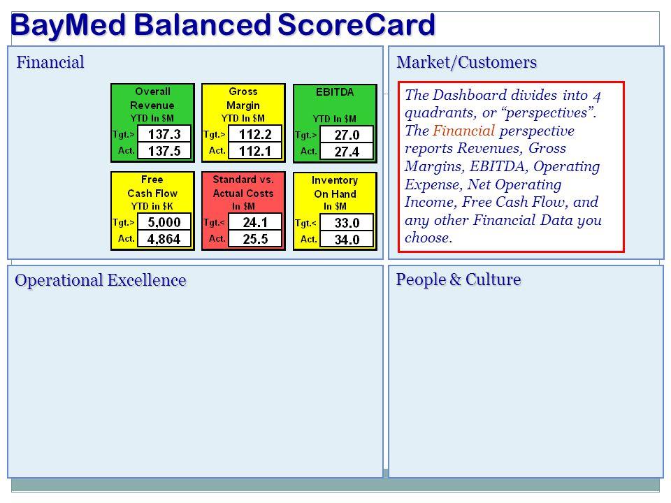 BayMed Balanced ScoreCard